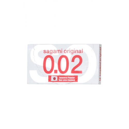 Презервативы полиуретановые «Sagami Original», ультратонкие