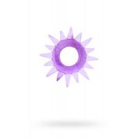Эрекционное кольцо «Ковбойская шпора», фиолетовое