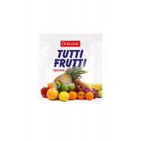 Съедобная гель-смазка Tutti-Frutti для орального секса