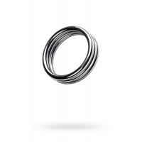 Кольцо металлическое на пенис «Шлёвка» ребристое