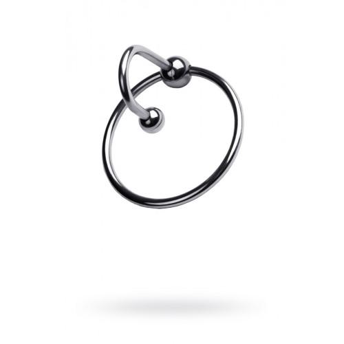 Кольцо спермстоппер из металла на головку пениса для БДСМ «Любопытный Удав»