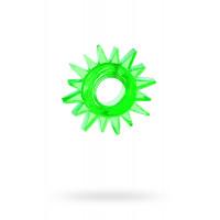 Эрекционное кольцо «Ковбойская шпора», зеленое
